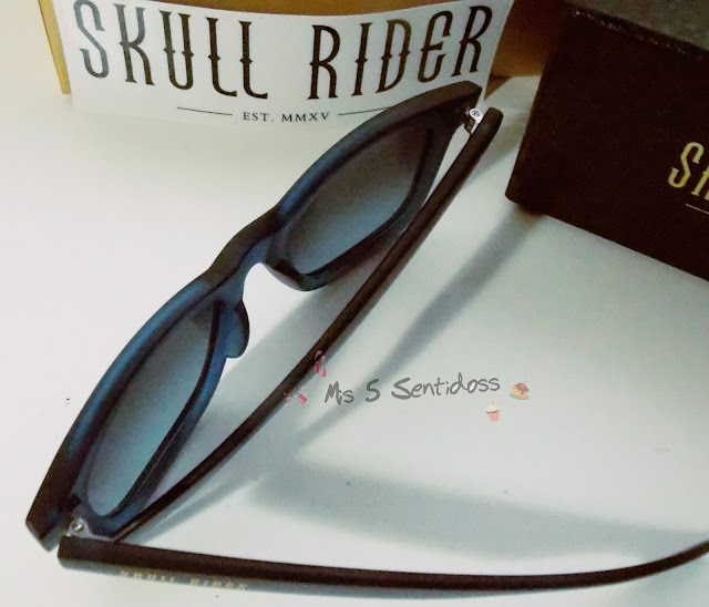 Mis nuevas gafas Skull Rider