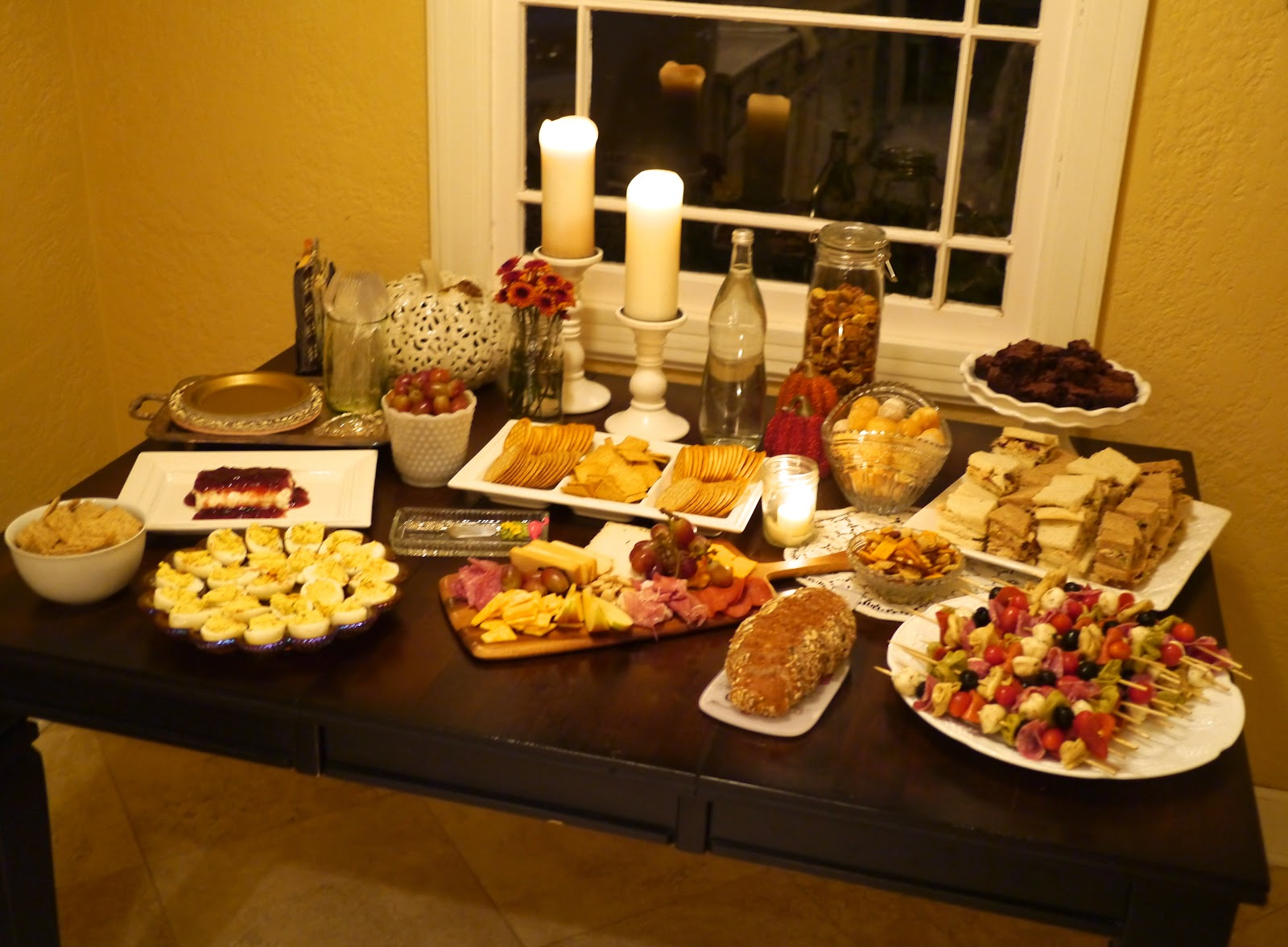 The Tale of Two Tings: my annual girl's wine & cheese party.
