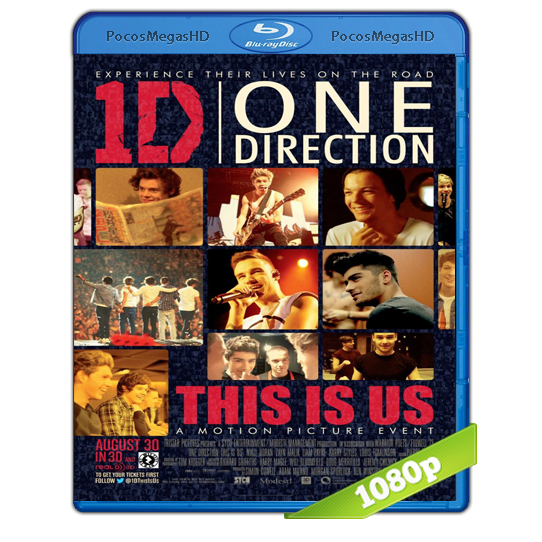 One Direction: This Is Us EXTENDED(2013) BrRip 1080p Inglés AC3+subs‏