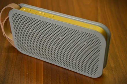 THIS IS WHAT HAPPENS WHEN BANG & OLUFSEN DECIDES TO MAKE A PORTABLE BLUETOOTH SPEAKER