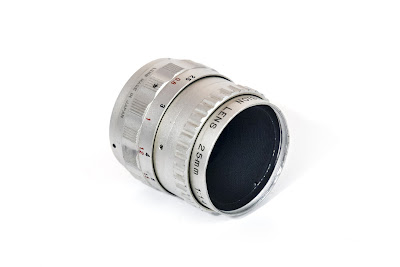 Cosmicar Television Lens 25/1.4 - filter thread [front side]