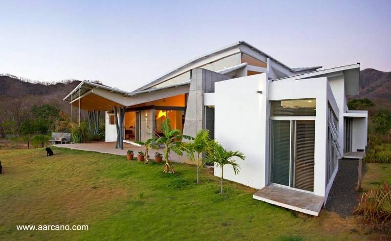 Estructuras de la construcci n dise o de casas for Casas modernas futuristas