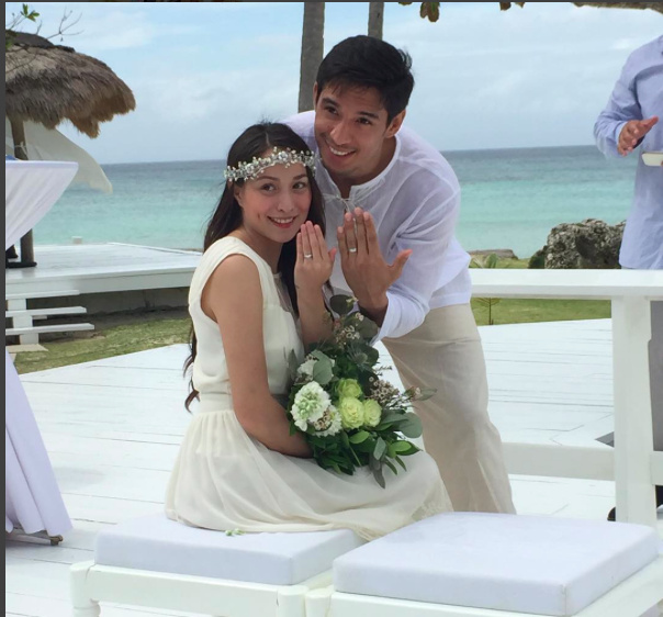 CONGRATULATIONS! Cristine Reyes and Ali Kathibi marry in Balesin