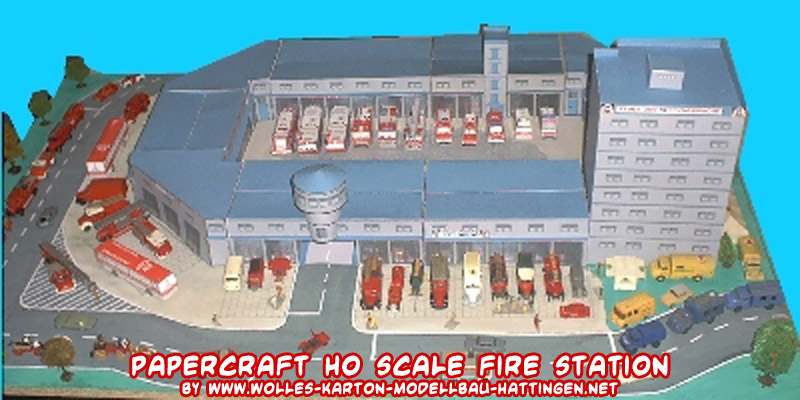 Ho scale fire department