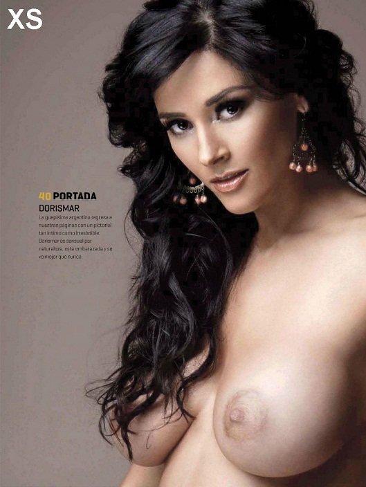 embarazada desnuda Dorismar
