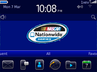NatiowideNascarBlackberry9300themes1 Nationwide Nascar 6.0 for Blackberry 9300 Curve 3G