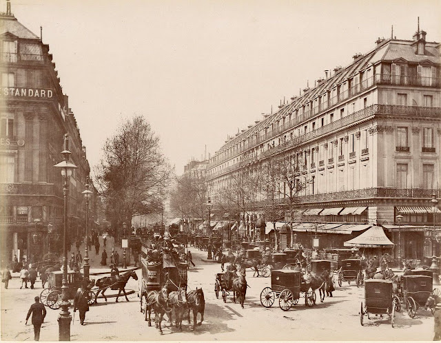 boulevard des capucines and the grand hotel boulevard des capucines