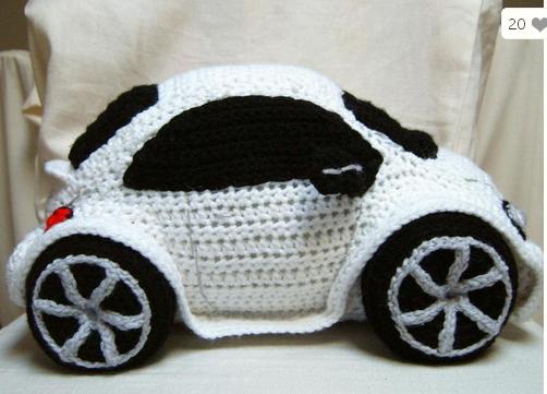 Связать подарок для машины