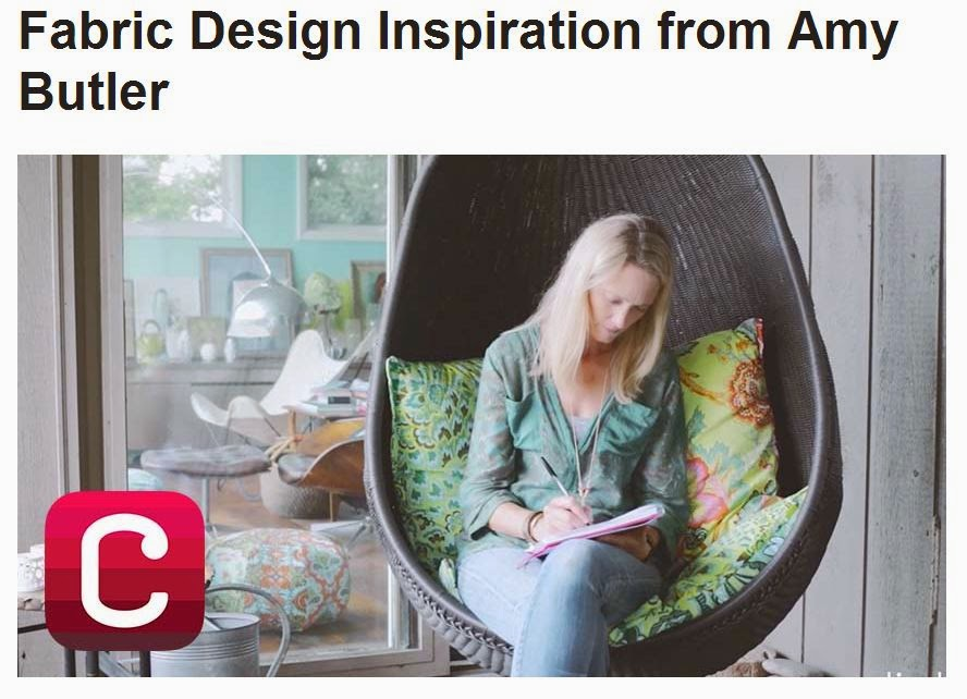 Fabric Design Inspiration from Amy Butler - Creativebug.com