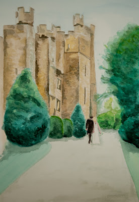 Wedding watercolour 2