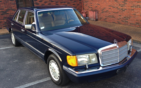 1990 mercedes benz 420sel w126 for Mercedes benz plant salary