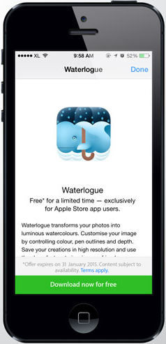 Download Waterlogue App For Free