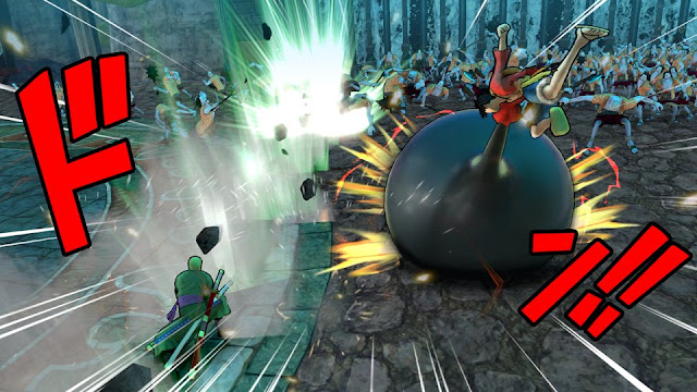 One Piece Pirate Warriors3 Luffy and zoro