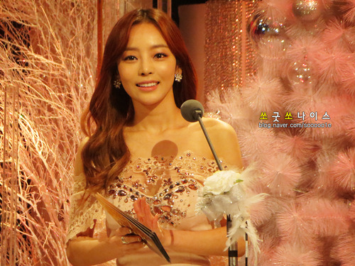 Goo HARA KARA KBS Entertainment Award Picture