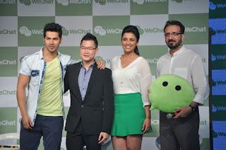 Wechat launch event in Mumbai