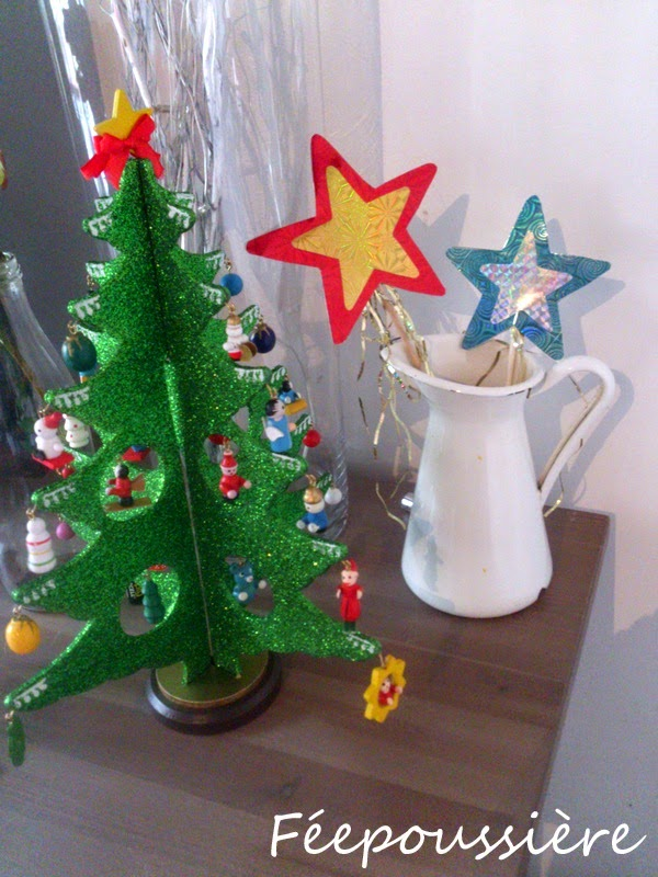 Baguettes magiques de Noël