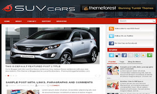 SuvCars Blogger Template