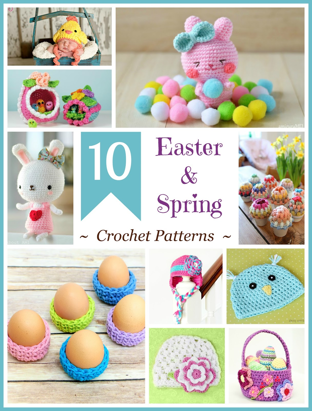Crochet Patterns Free Easter ~ Dancox for .