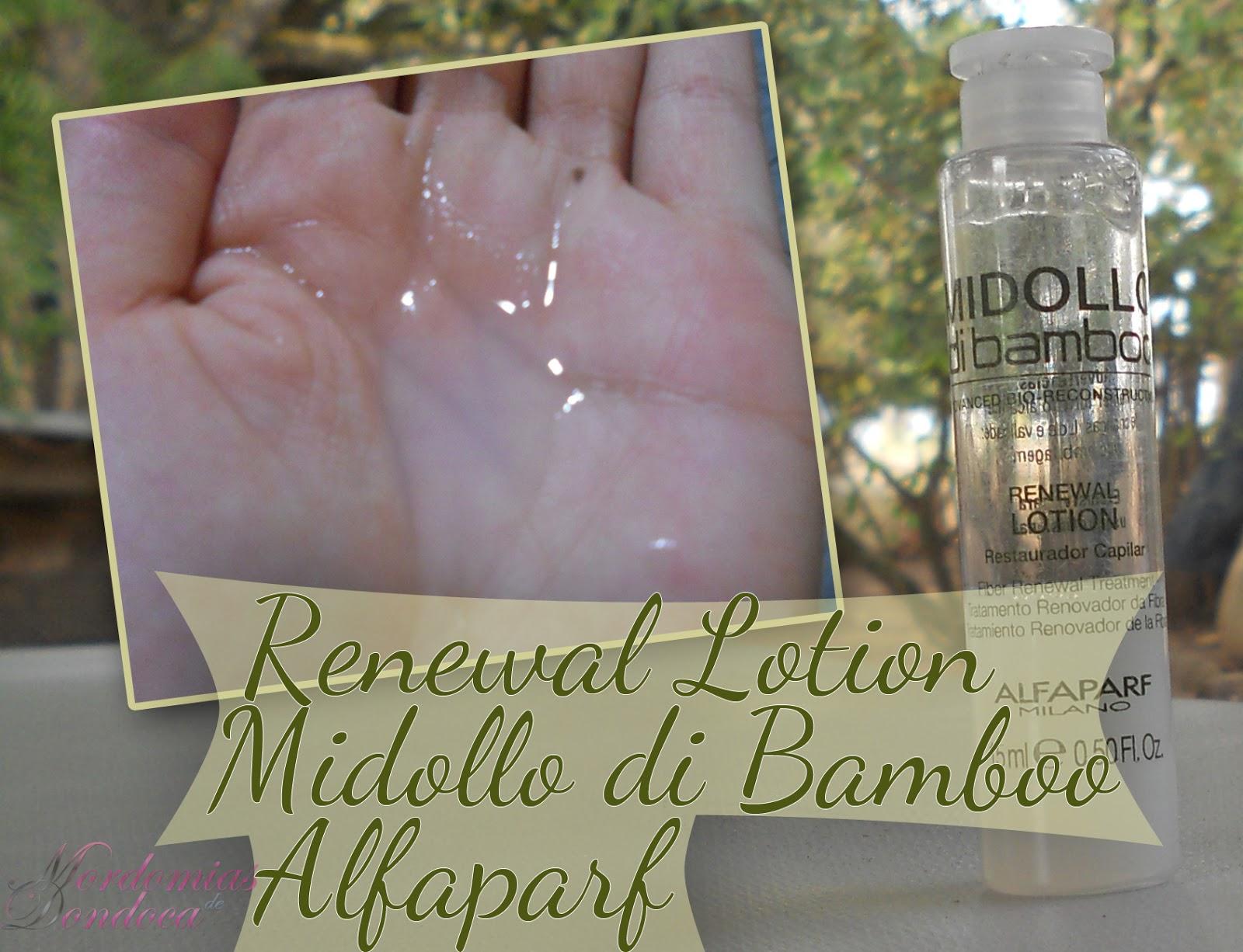 Renewal Lotion Midollo di Bamboo Alfaparf