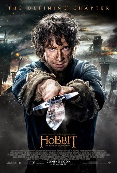 the hobbit the battle of the five armies poster