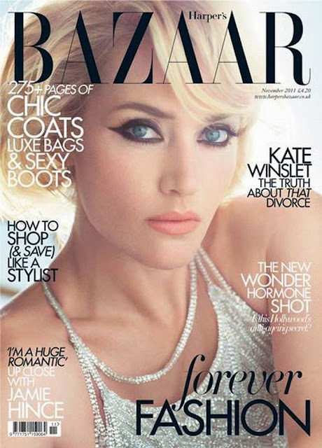 Kate Winslet-Harper's Bazaar UK November 2011