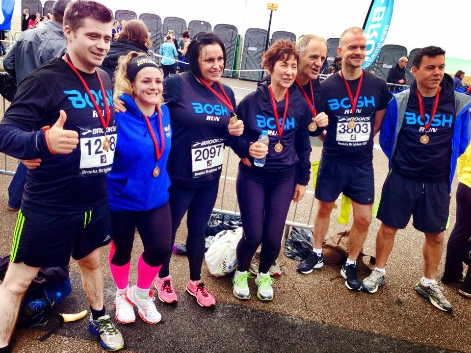 Brooks Brighton 10k 2014 - BOSH run