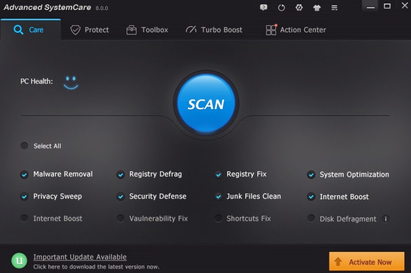 Advanced systemcare pro 6.4.0.290 final repack by dakov