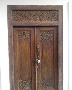 Gebyok Madura Jual Pintu Tempat Tidur Antik