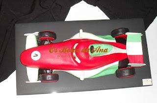 Bolo Francesco Bernoulli Cars McQueen