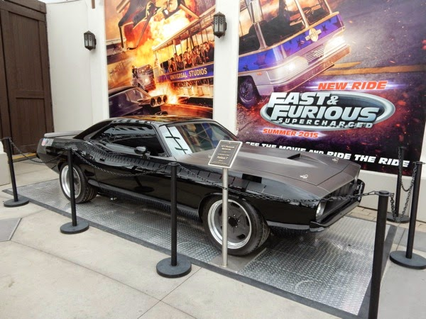 1971 Plymouth Barracuda Furious 7 movie car