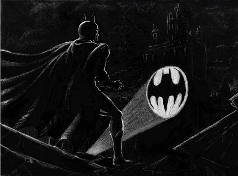 Tim Burton´s Gotham concept art