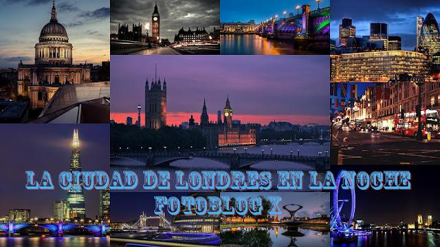 Imagenes de Ciudad de Londres en la Noche