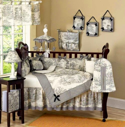 black and white crib bedding for boys