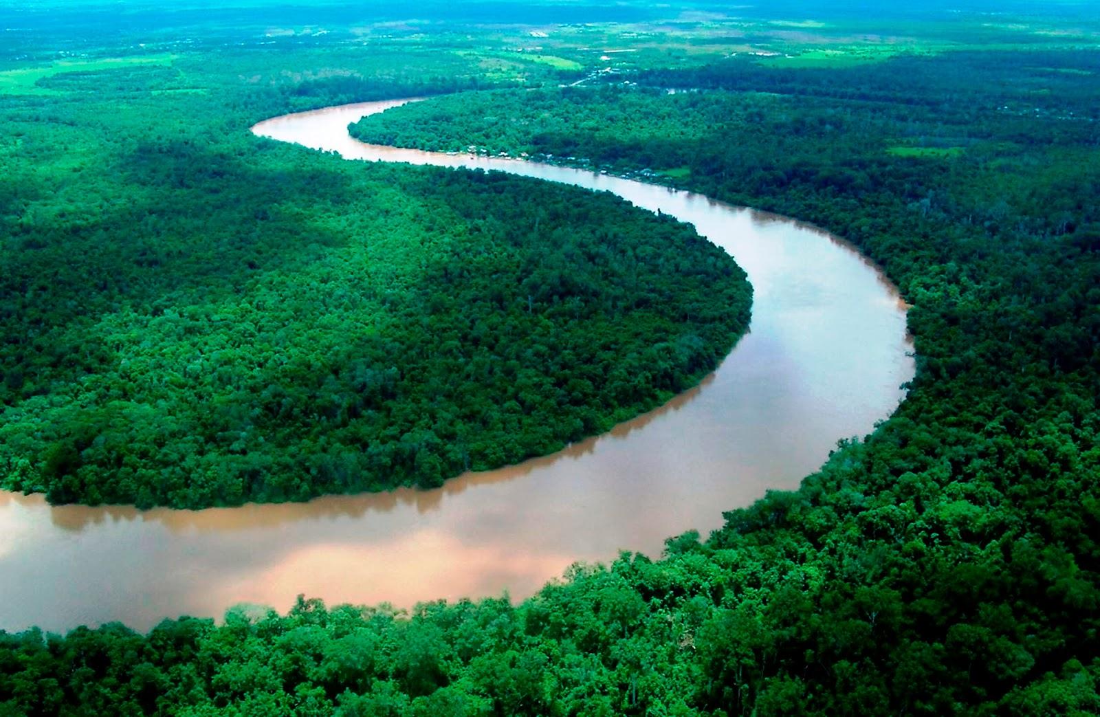 manfaat sungai bagi kehidupan dan lingkungan hidup alam sehat