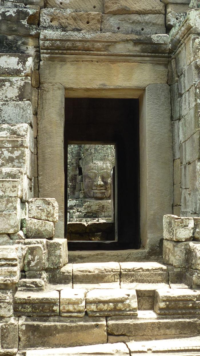 Chetan Kumar - Photograph of Bayon, Angkor Wat