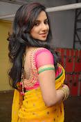 Leema glamorous photos in half saree-thumbnail-12