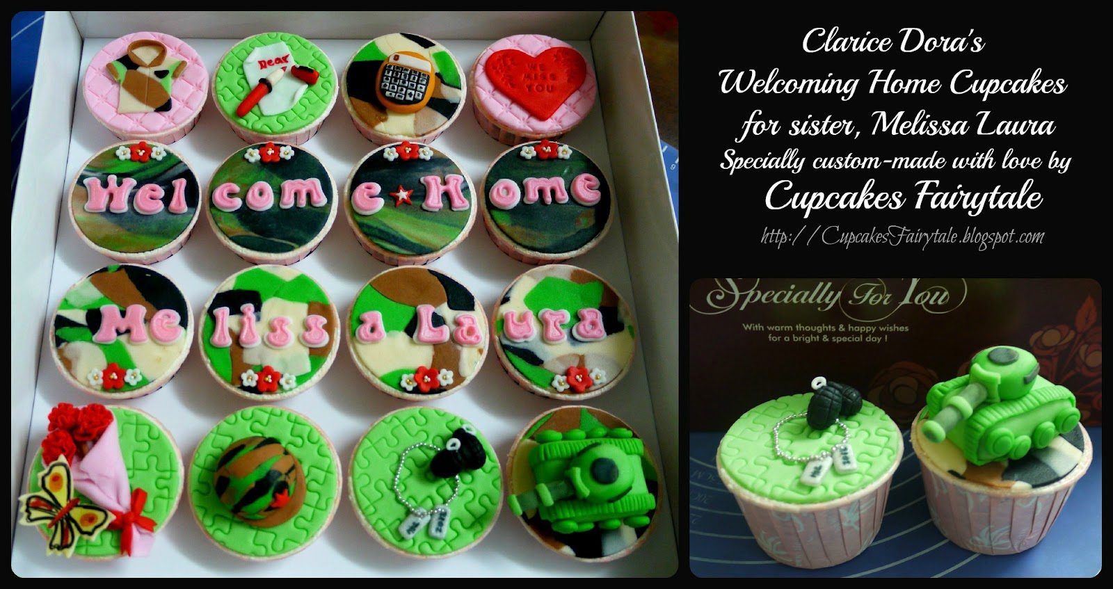 Cupcakes Fairytale Clarice Dora 39 S Welcome Home Cupcakes