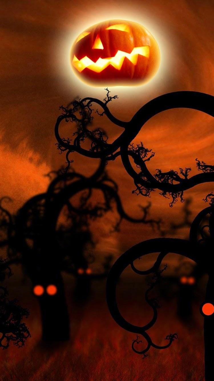 iPhone 6 Halloween Wallpaper