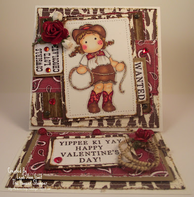 magnolia cowgirl tilda yippee ki yay happy valentines day