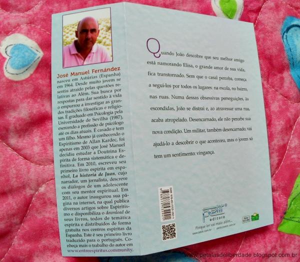 Resenha, livro Morreu e não sabia, José Manuel Fernández, Petit, espírita, sinopse, capa, comprar, trechos