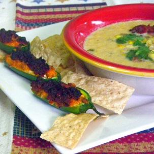 Inspired By eRecipeCards: Chorizo-Stuffed Jalapenos ala Homesick Texan