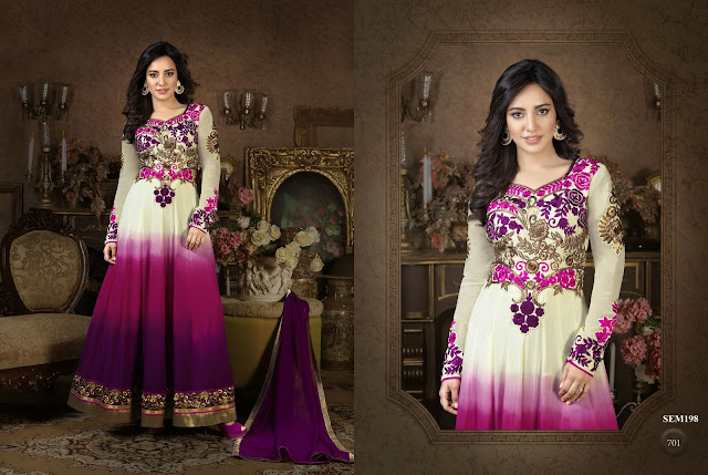 Traditional Designer Neha Sharma Anarkali Suit