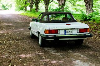01 Mercedes-Benz 560SL R107 1988