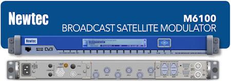 Modulator DVB-S2X terbaru Newtec M6100