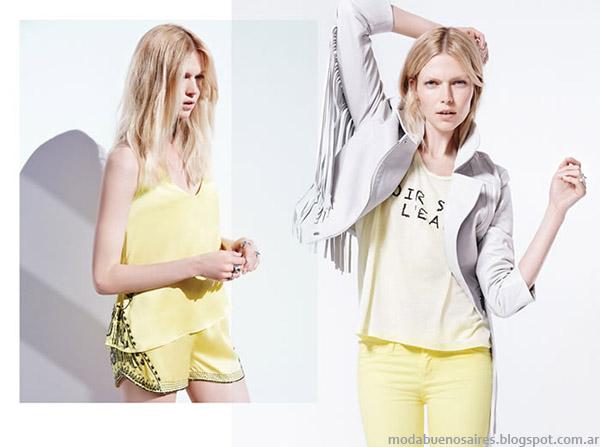 Moda primavera verano 2015, colección Ginebra ropa de mujer.
