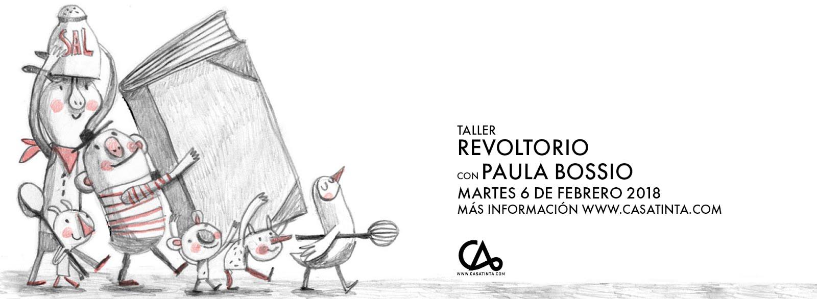 REVOLTORIO:libro álbum // 3 de feb