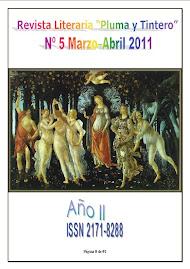 """Nº 5 - Año II - Revista Literaria """"Pluma y Tintero"""""""