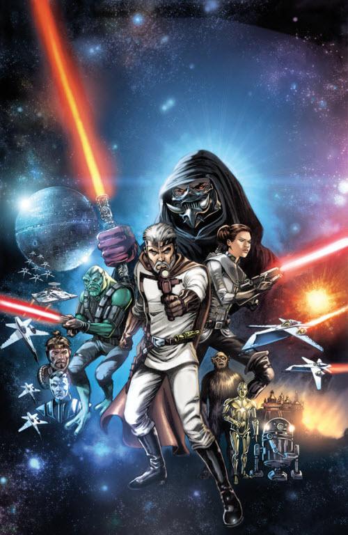 The Star Wars: Comic autorizado del guión original de George Lucas