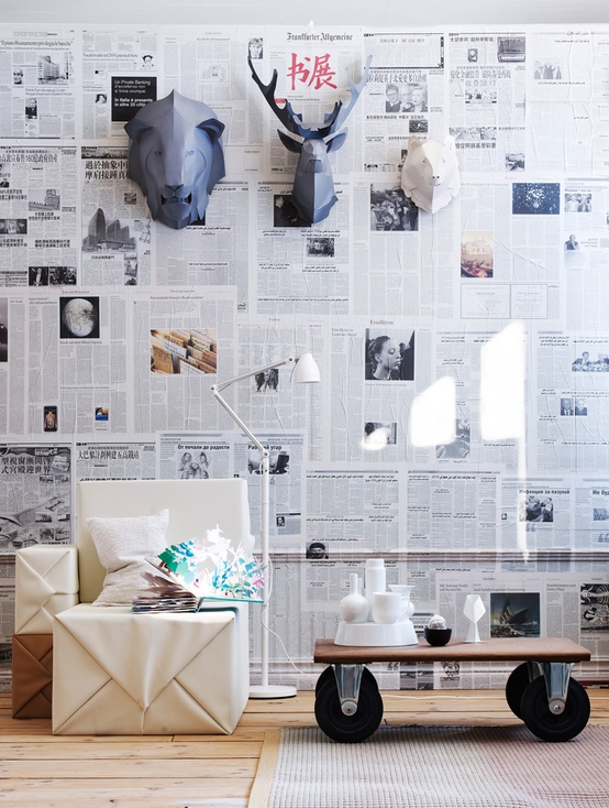 Papier peint design bambou pas cher Shopping Deco avec  - Papier Peint Bambou Pas Cher