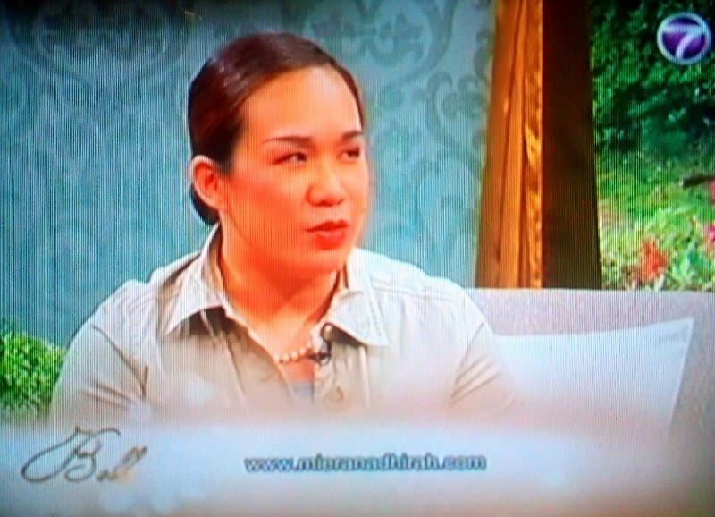 On Bella NTV7 recently..